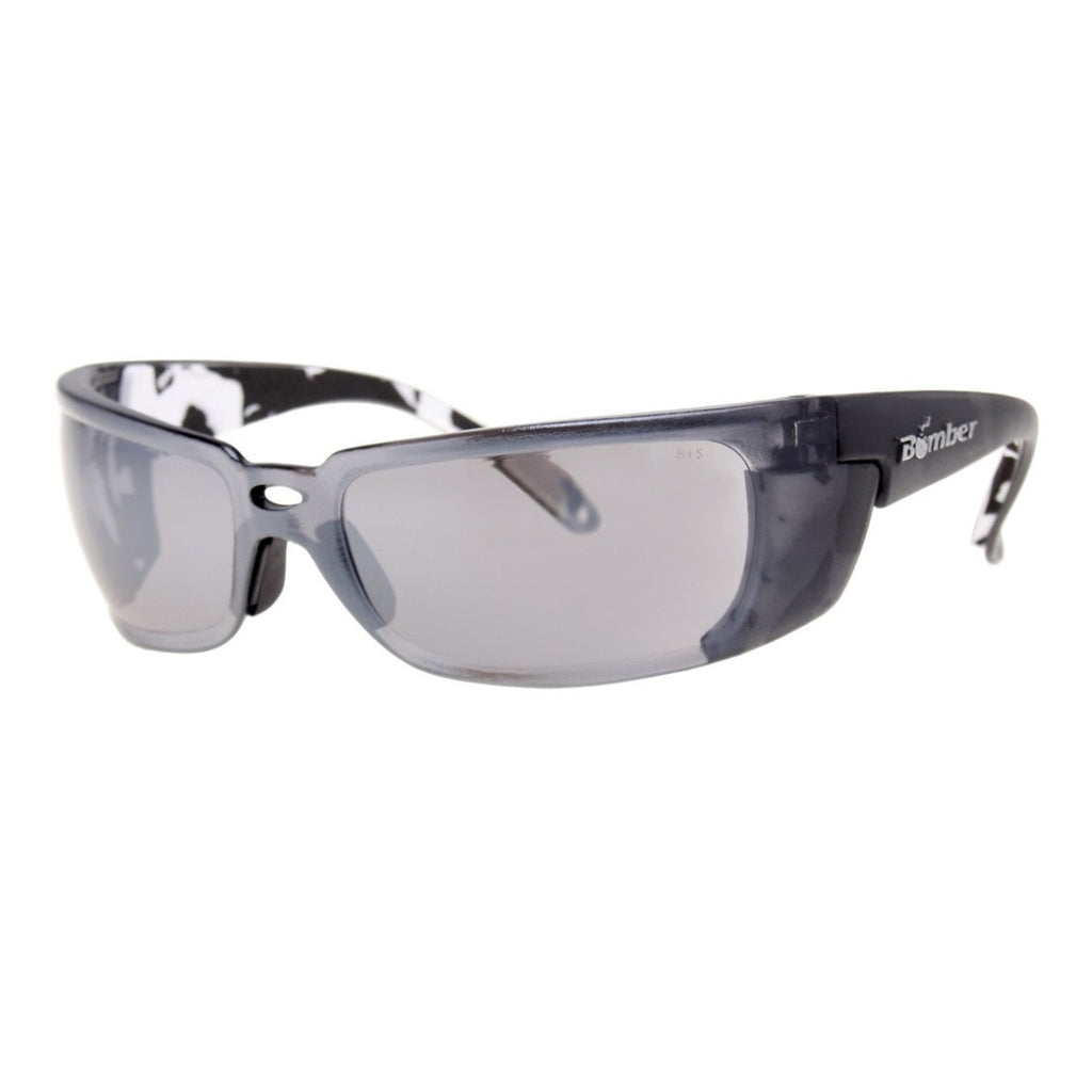 Bomber Sunglasses - Z Bombs Mirror Safety W/ Foam