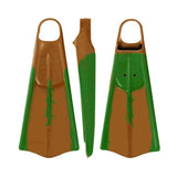 Voit UDT Swimfins - Brown/Green Marble - XXL