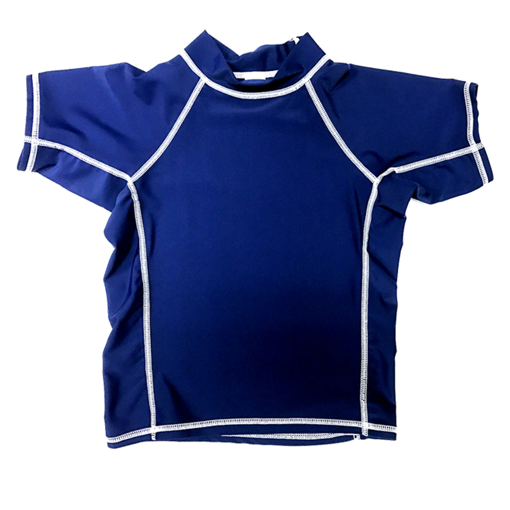 Junior Guard Short Sleeve Rashguard - Navy