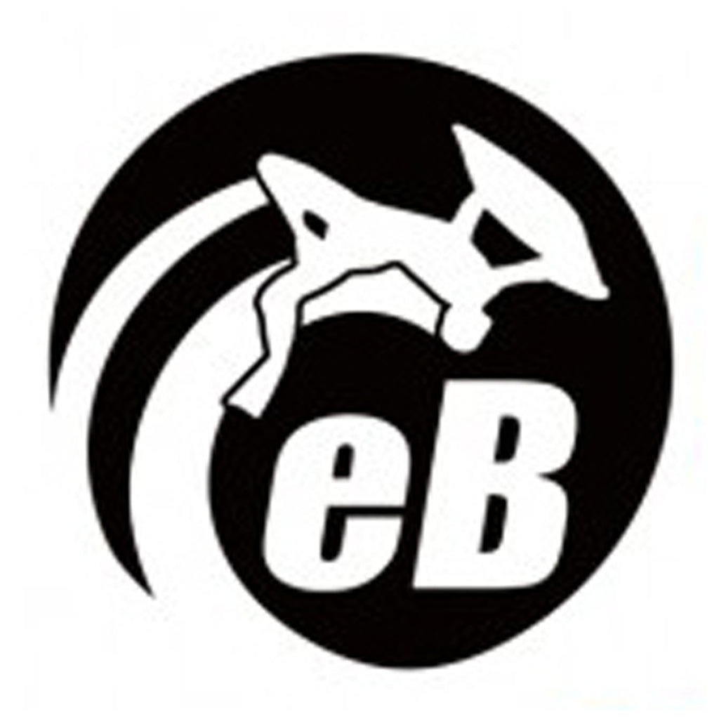 "eBodyboarding.com 6"" Eclipse Sticker - Black"
