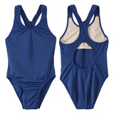 Junior Guard Girls One-Piece Racer Back Swimsuit - NV-08