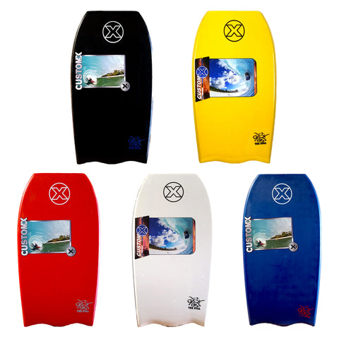 Custom X Bull PP Bat Tail Bodyboard