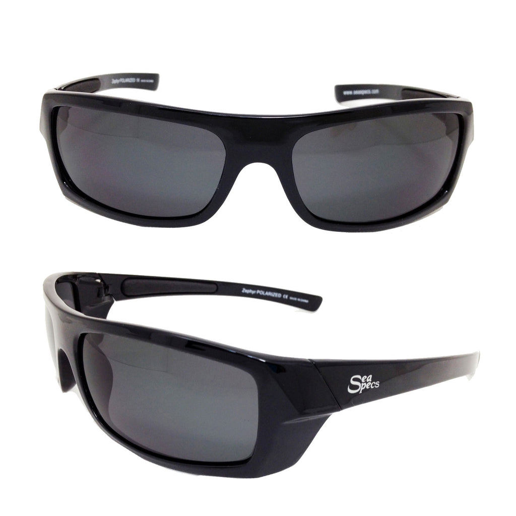 Seaspecs aFloat Zephyr Black Floating Sunglasses - Black