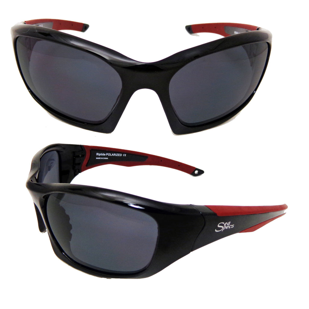 Seaspecs aFloat Riptide Floating Sunglasses - Black
