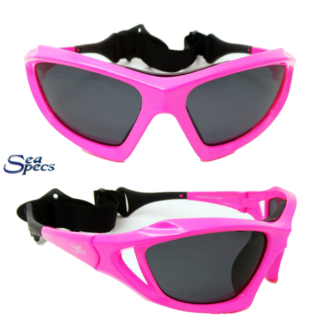 Seaspecs Stealth Floating Sunglasses - Pink