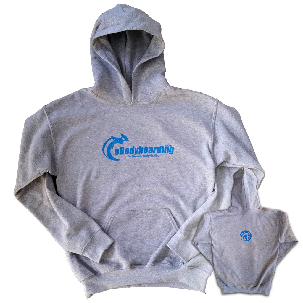 eBodyboarding.com Basic Sweatshirt Youth Grey