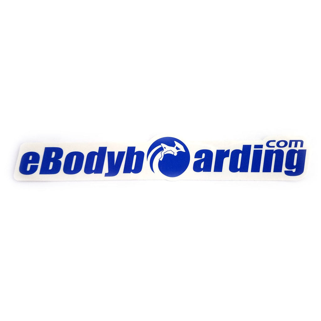 eBodyboarding.com Launch-O 9 Sticker - Blue