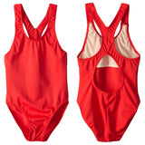 Junior Guard Girls One-Piece Racer Tank Swimsuit - RD-10