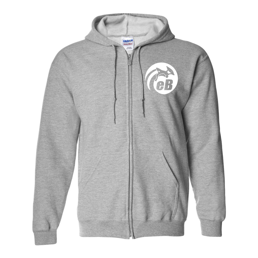 eBodyboarding Full-Zip Hooded Sweatshirt Cotton/Polyester