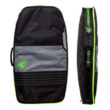Creatures of Leisure Double Padded Board Case 10 mm Padding - Charcoal Lime