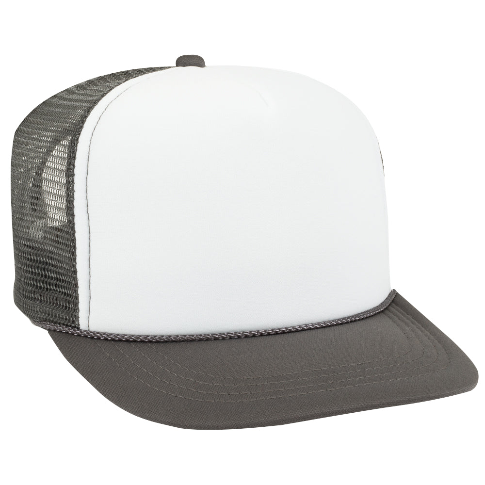 Trucker Hat Mesh Back Snap Back Polyester/Nylon