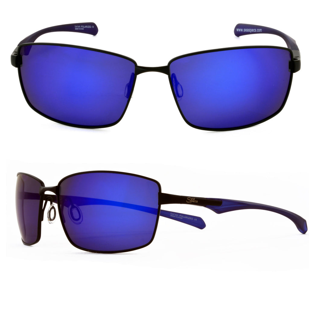 Seaspecs Sunglasses - Safari With Blue Lenses