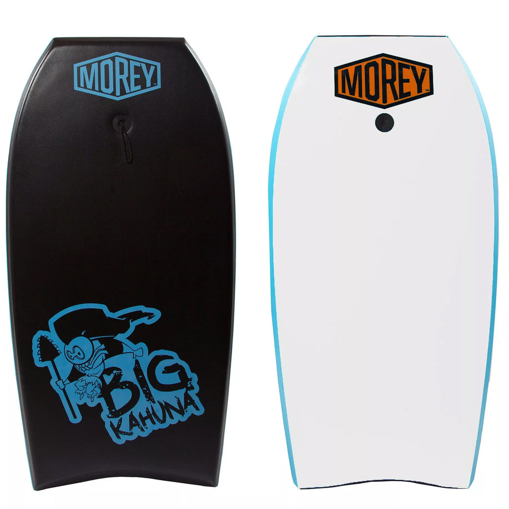 "Morey Big Kahuna 44"" Bodyboard - Black / Light Blue / White"