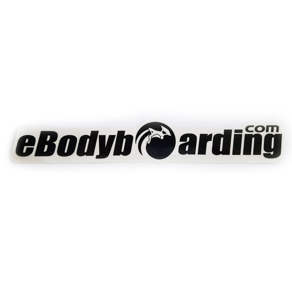 eBodyboarding.com Launch-O 9 Sticker - Black