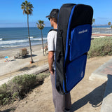 eBodyboarding.com 4 Bodyboard Padded Travel Backpack Bag | 5mm Padding with 3 Gear Pockets