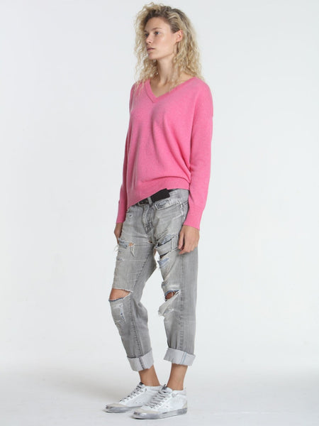 Label+Thread BF V Sweater in Pink