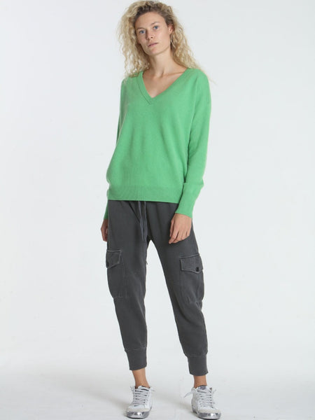 Label+Thread BF V Sweater in Green