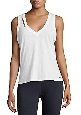 n:Philanthropy Pepper V Tank in White