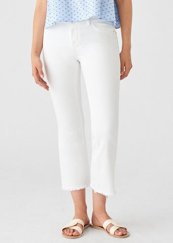 DL1961 Bridget Crop in White