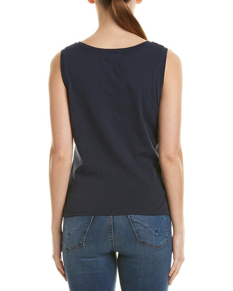 n:Philanthropy Pepper V Tank in Black