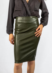 Brochu Walker Drew Skirt in Evergreen