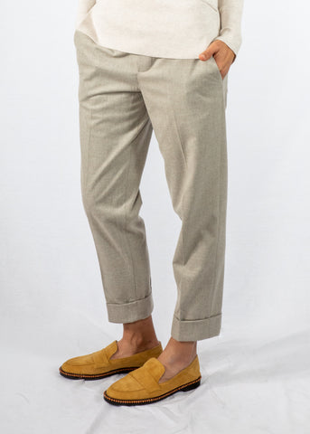 Brochu Walker Westport Pant in Whisper Melange