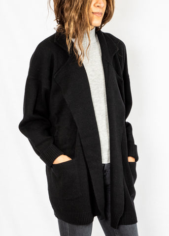 Cooper Short Coat Black