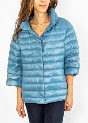 Anorak Missy Puffer in Oxford Blue