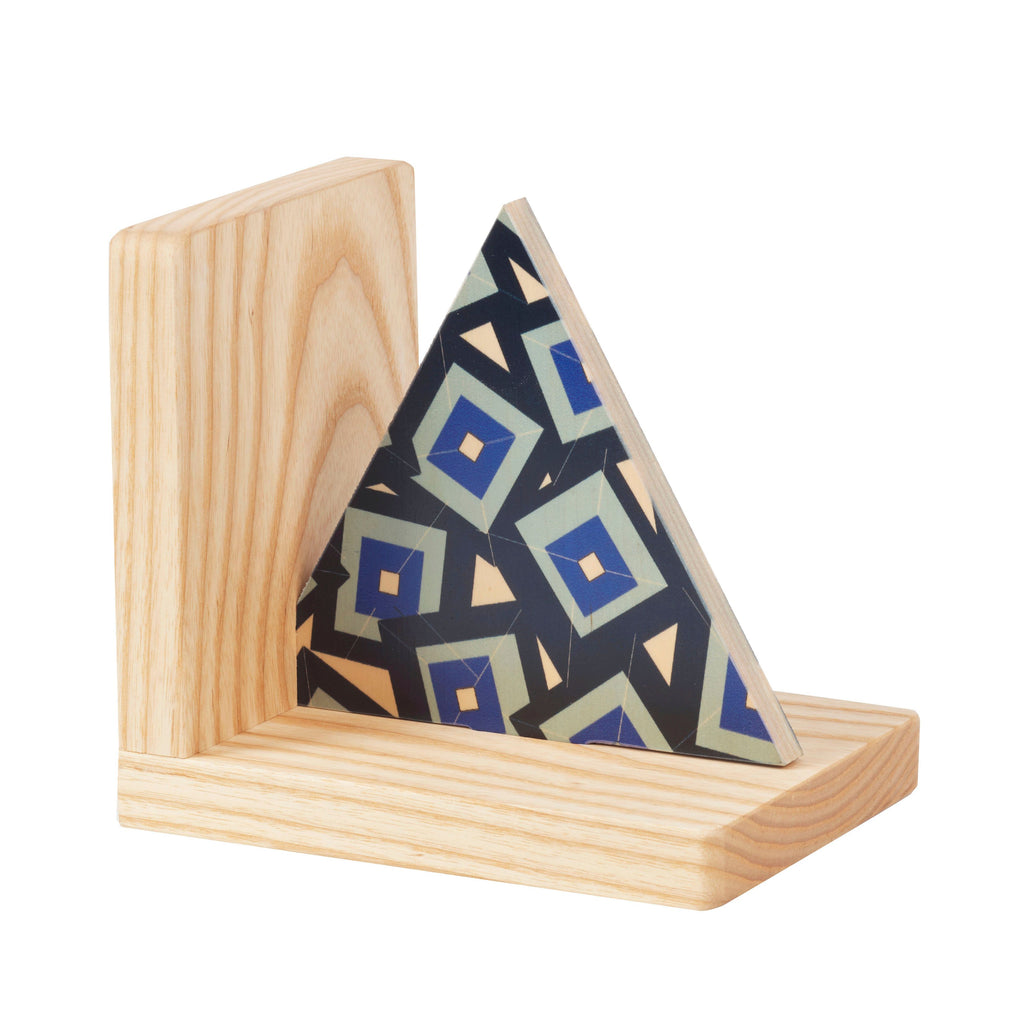Wolfum Bookend Alma Triangular