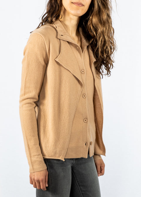Inhabit Luxe Combo Sweater in Ginger