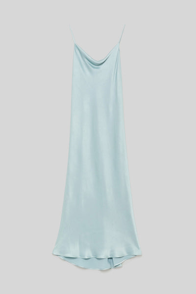 Maliparmi Slip Dress in Deep Sea
