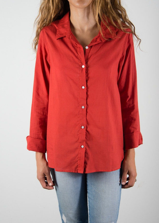 Leylie Jess Shirt in Coral