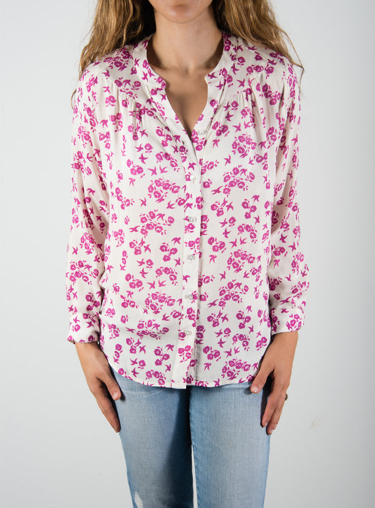 Leylie Lauren Blouse in Floral