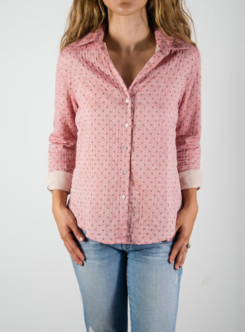 Leylie Chris Shirt in Pink Dot