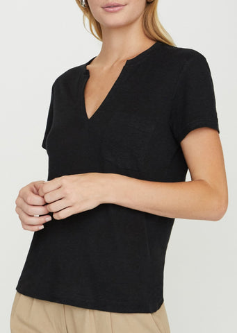 Brochu Walker Rana Tee in Black