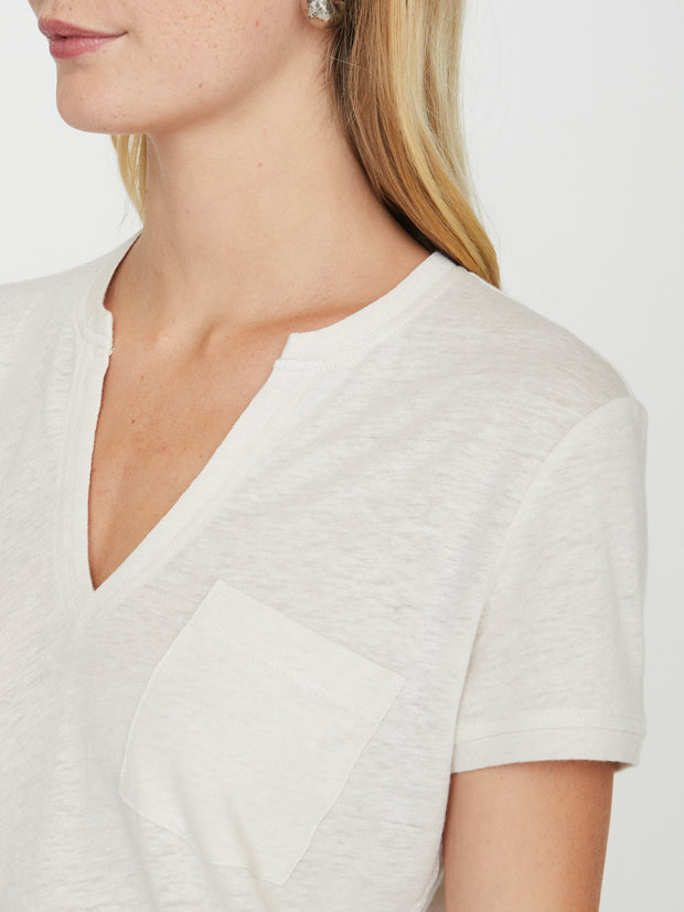 Brochu Walker Rana Tee in Mineral
