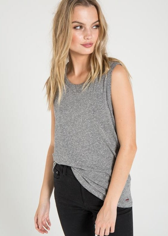 n:Philanthropy Edith Muscle Tank in Heather Grey