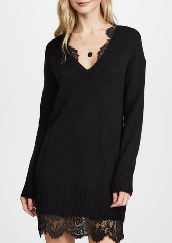 Brochu Walker Looker Lace Dress in Black