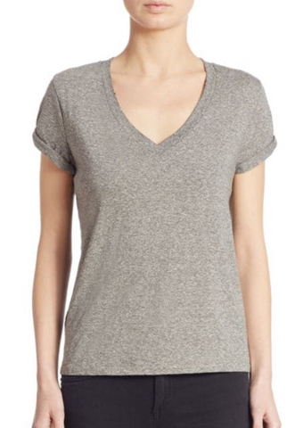 n:Philanthropy Esme V Tee in Heather Grey