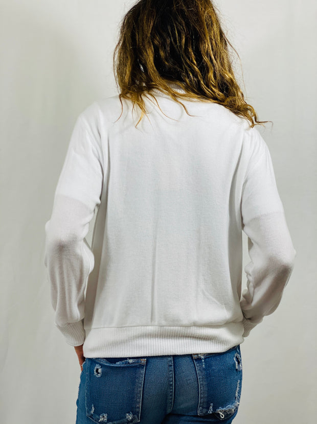 Beautiful People Bomber Jacket in White