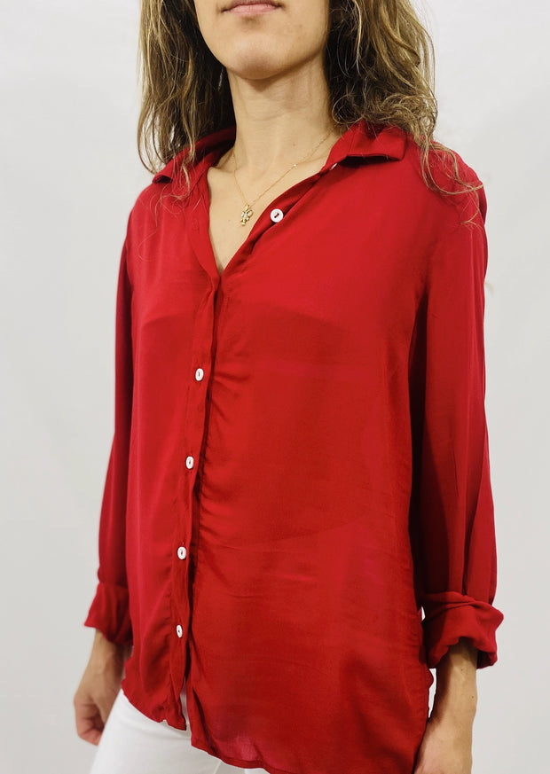 Leylie Guilda Shirt in Red