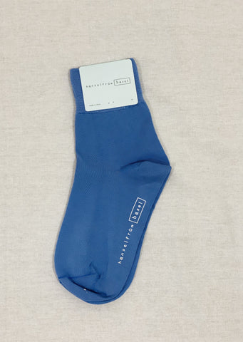 Hansel From Basel Trouser Crew Socks in Blue