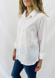 Leylie Jess Shirt in White Stripe