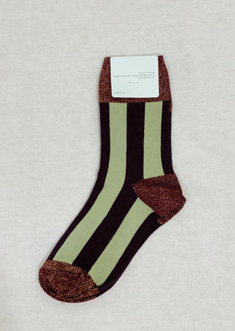 Hansel from Basel Glitter n' Stripe Socks