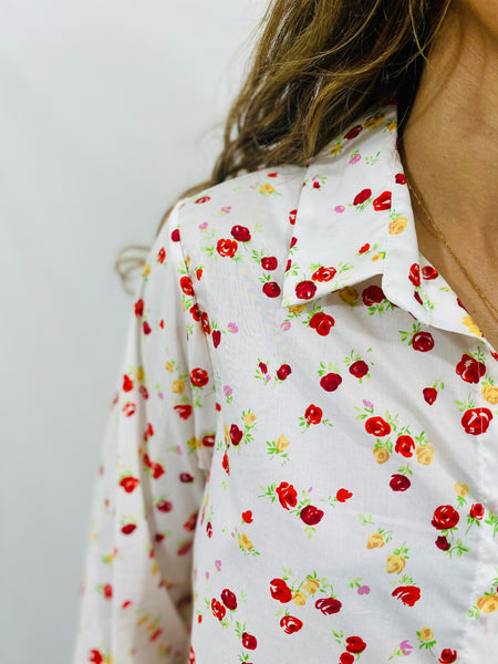 Leylie Jess Shirt in Happy Floral