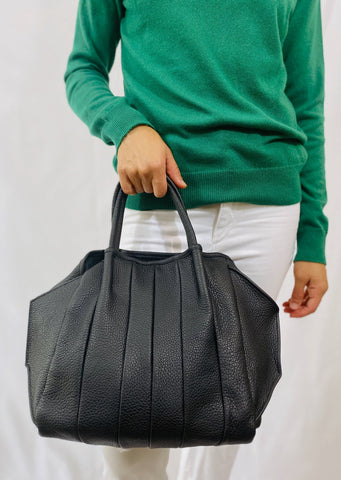 "Oliveve ""Zoe"" Tote in Black"