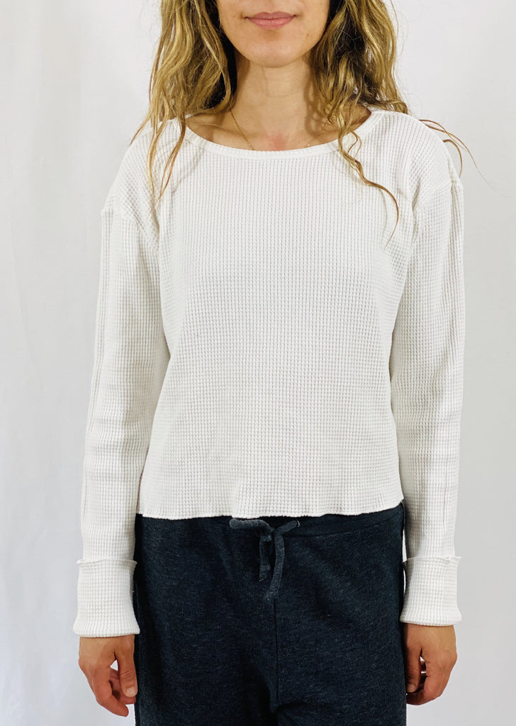 Leylie Toasty Thermal in White