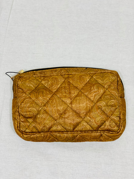 Ellies and Ivy Make-Up Bag in Gold