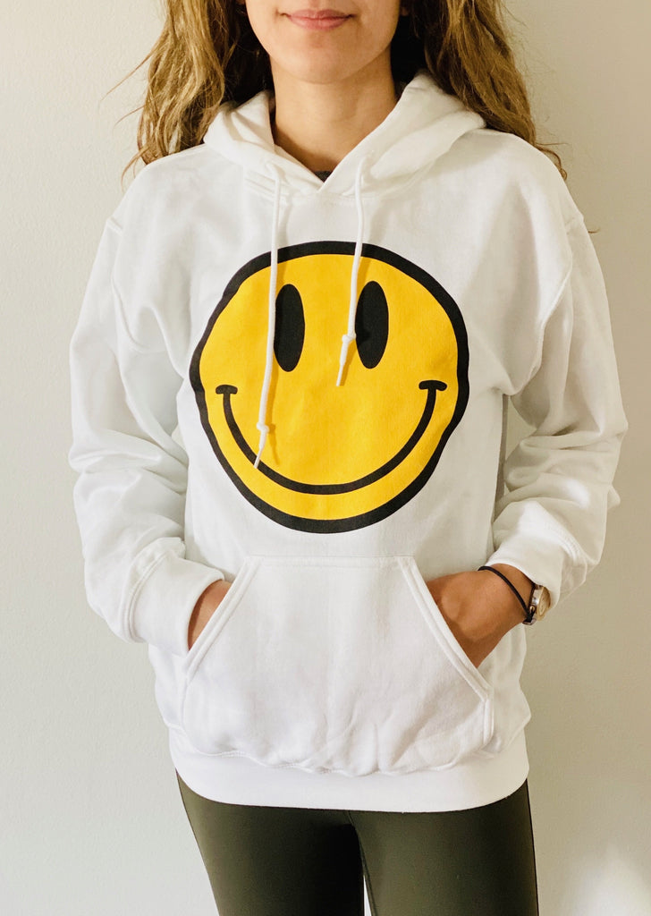JET Smiley Face Hoodie