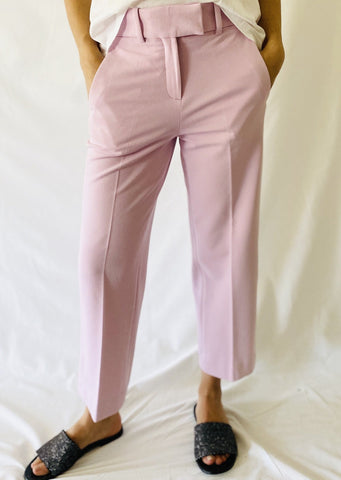 Circolo Wide Leg Pants in Petalo